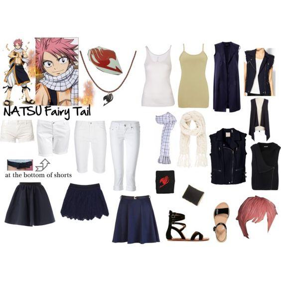Natsu - Fairy Tail - Casual Cosplay