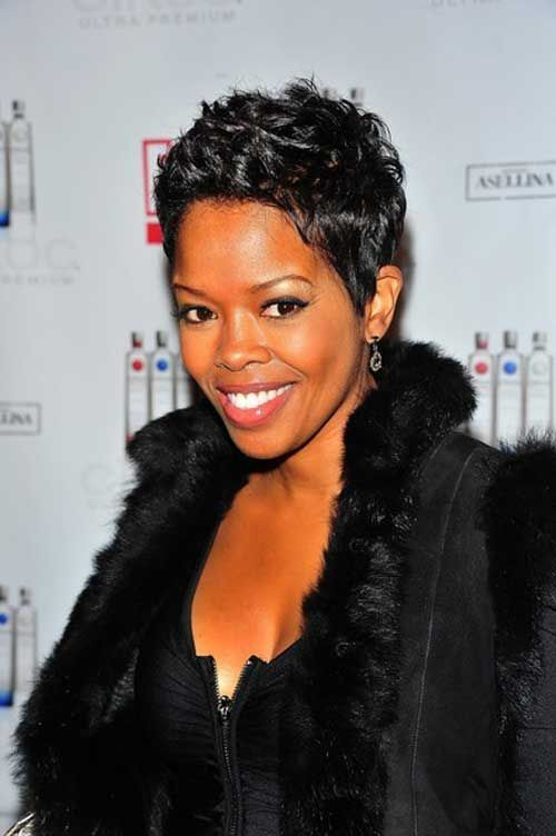 Terrific Short Pixie Nice And Pixie Hairstyles On Pinterest Short Hairstyles For Black Women Fulllsitofus