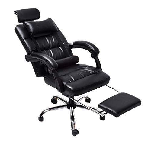 Ergonomic Office Boss Chair Home Massage Chair Staff Training Chair With Footrest Reclining Swivel Computer Chair Color Boss Chair Computer Chair Foot Rest