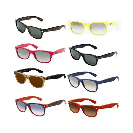 ray ban wayfarer sunglasses colors  ray ban rb2132 wayfarer sunglasses in different colors on amazon