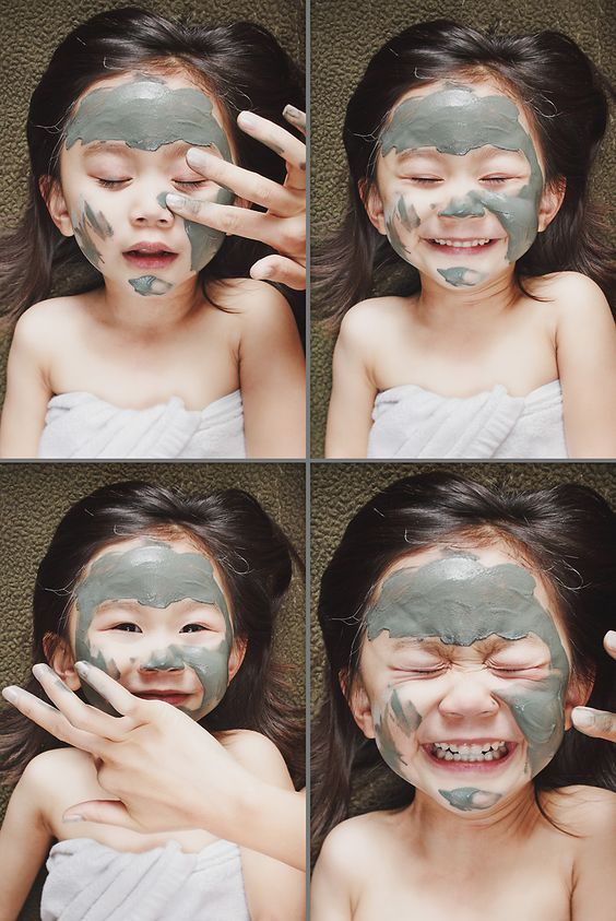 a father's amazing staged kid photography (inspiration for a 'spa day' shoot with mommy?)