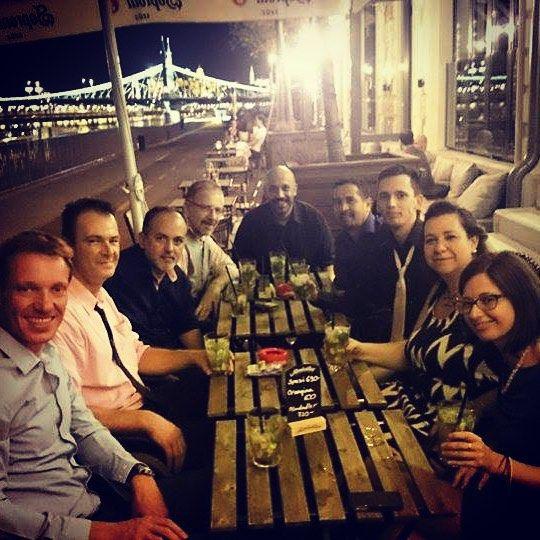Petite soirée mojitos sur Budapest avec la Belgique-Argentine-Italie  #hongrie #hungary #mojito #budapest #boedapest #instagood #instatravel #intersteno #picture #photo #italia #italie #belgium #belgique #europe #trip