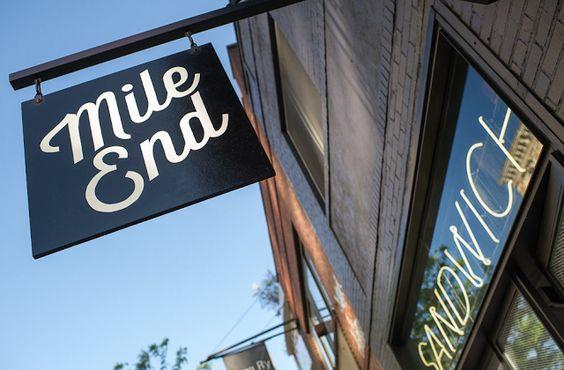 Kaper Design; Restaurant & Hospitality Design Inspiration: Mile End Sandwich & Delicatessen