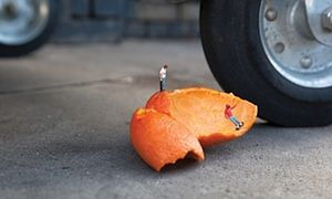 In this article from The Guardian, Slinkachu explains how he makes his unique brand of street art.