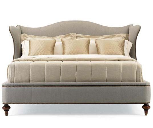 HW-735-21 Hickory White Continental Classics Upholstered King Bed