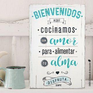 Cuadro Con Frase Buen Vino Buena Comida Frases Para