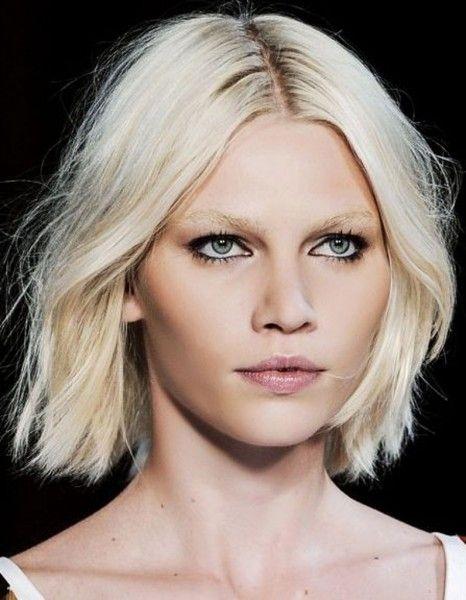 Coiffure visage rond et cheveux fins - 40 coiffures canon pour les visages ronds - Elle