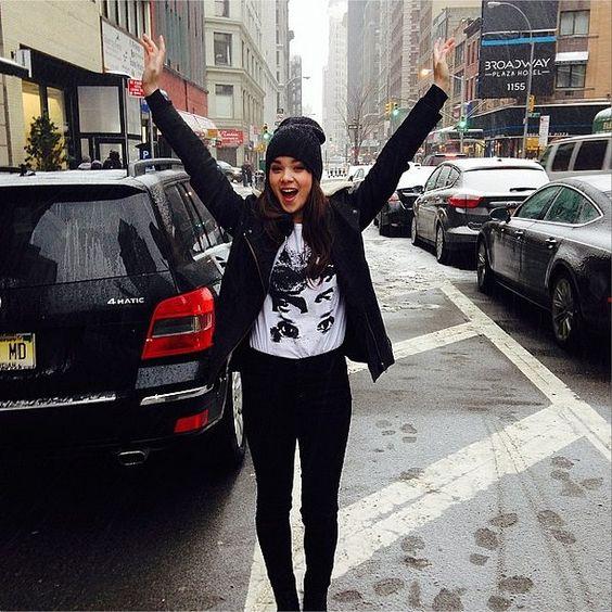 Hailee Steinfeld   The Week's Hottest Accessory: Instagram   POPSUGAR Fashion