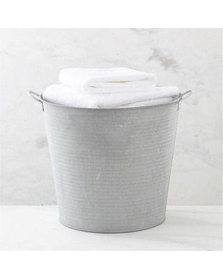 Crate  Barrel Galvanized Tub from Crate & Barrel | BHG.com Shop