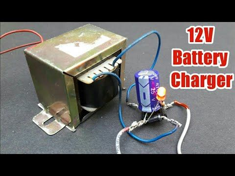 How To Make 12 Volt 30 AMP Battery Charger Transformer Winding Easy At  Home. YT-48 - YouTube | Charger, Battery charger 12v, Battery charger | Battery Charger Transformer Wiring Diagram |  | Pinterest