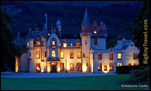 Most Amazing Castle Hotels In The World, Top Ten, Aldourie Castle Scotland loch ness