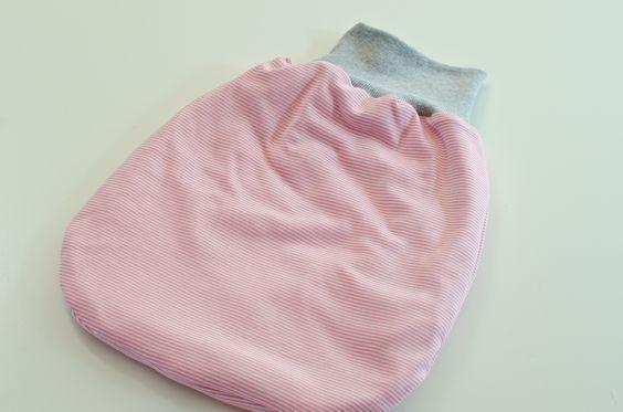 DIY Anleitung für einen Pucksack für Babys als Geschenk zur Geburt
