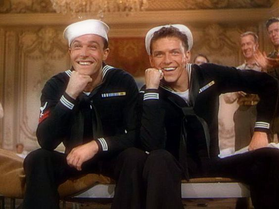 Anchors Aweigh 1945 - Gene Kelly and Frank Sinatra.