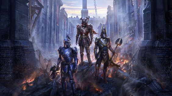Imperial City -Elder Scrolls Online by Jeremy Fenske | Illustration | 2D | CGSociety