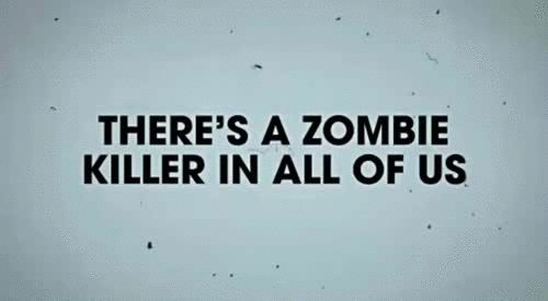 This reminds me of my lovely roommate! Agree to disagree!! Zombie Love...