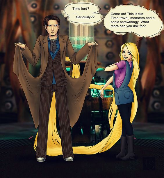 Tangled Who? by *trasigpenna on deviantART. 8D