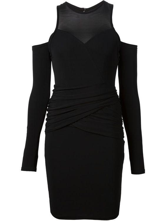 Yigal Azrouel Figurnahes Kleid Mit Cut-outs - Hirshleifers - Farfetch.com