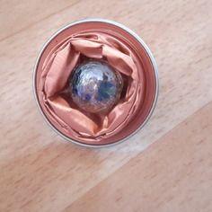 Très belle bague réglable, collection nespresso bukeela kan ethiopia rose et sa perle incrusté fleur