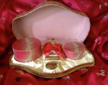 Vintage Coty L'Aimant Set 5 Piece Gift Set 1956 - 60s Original Extremely Rare
