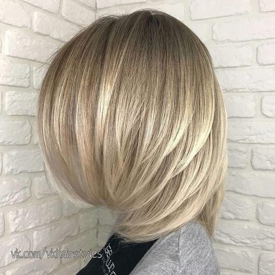 Стрижка каскад на все типы волос