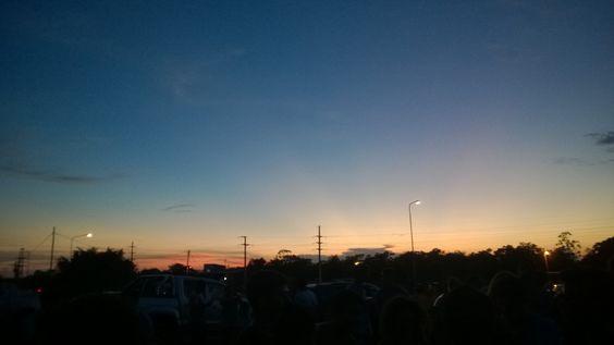 Amanecer. Ituzaingo Corrientes Argentina