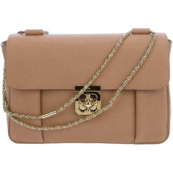Chloe 'ELSIE' Shoulder Bag .. farfetch.com