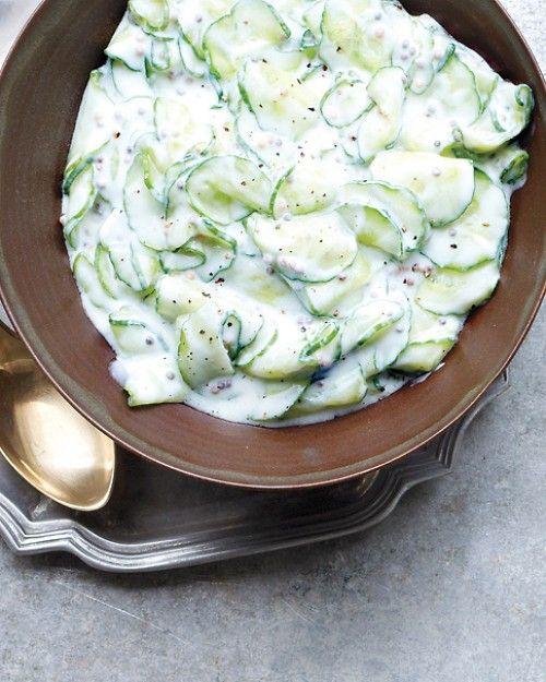 :: Cucumber Raita - Martha Stewart Style ::
