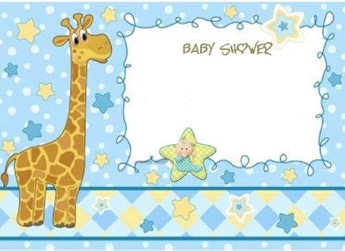 Formato Invitaciones Para Shower | Invitaciónes para baby shower de ...