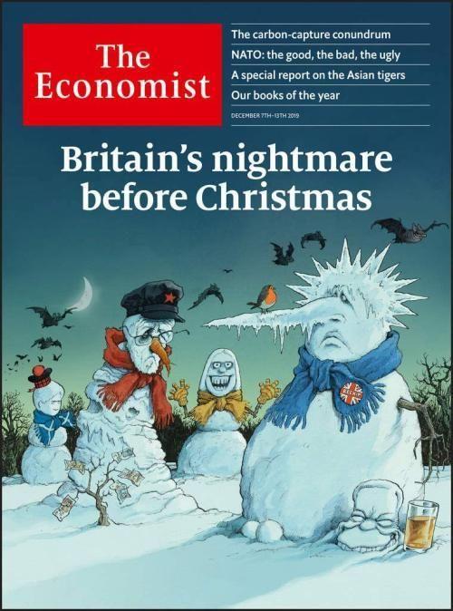 The Economist Coverjunkie In 2020 Economist Books Nightmare Before Christmas