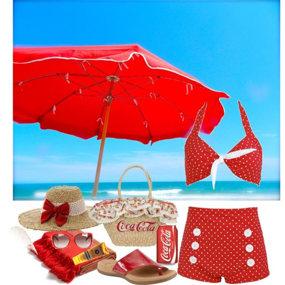 """""""Coca- Cola Summer"""" by ding1 on Polyvore"""