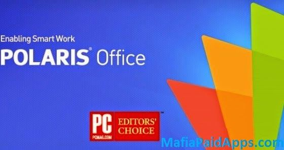 """Polaris Office  PDF v7.2.11 Apk   The best office app loved by 40 million users worldwide.  """"Editors' Choice"""" """"2015 Best App"""" and""""Top Developer""""awarded by Google Play.  Polaris Office  PDF is a free office app with all-in-one feature to view edit share memo and archive all types of documents anytime and anywhere.  All document formats and clouds with a single app  View and edit all document types with the highest level of compatibility: Microsoft Office Word Powerpoint Excel Google Docs…"""