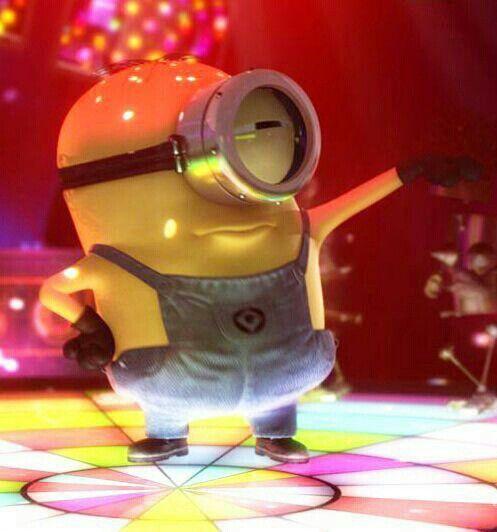 Disco Dancing Minion Minions Pinterest Minions