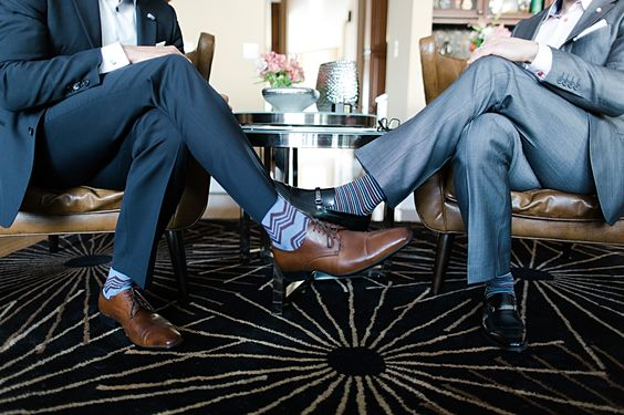 The socks and the shoes make the man.