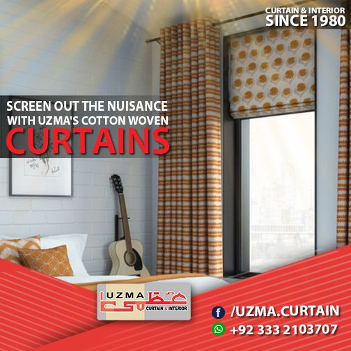 Curtains Ideas best curtain stores : Uzma Curtain and interior has the best Solution for your sweet ...