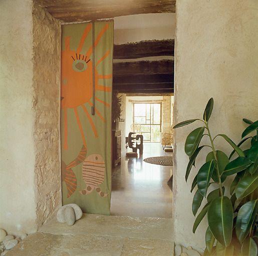 Home Of Robert Morel And Odette Ducarre Jas Du Revest