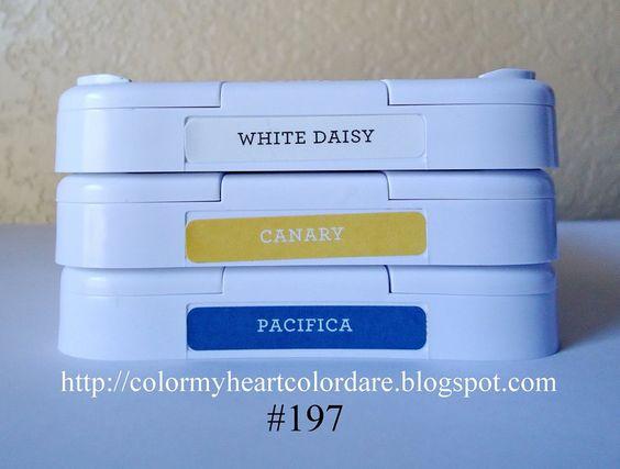 Color My Heart Color Dare: Winners - Color Dare #196