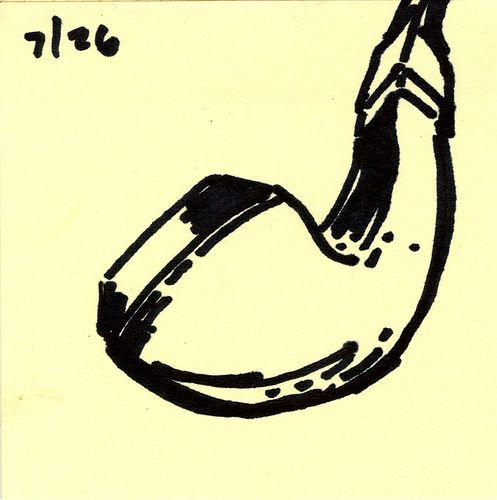 draw7.26 - pipe by jeff caporizzo, via Flickr