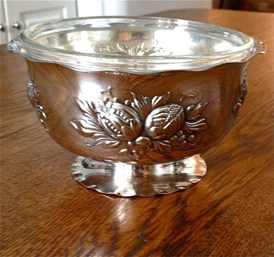 Antique Silver Serving Dish
