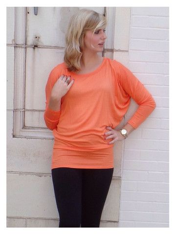 Orange Tunic Top - Perfect for Clemson Games! #clemson #gameday