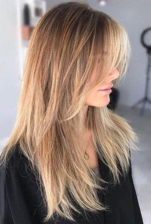 13 Cool Versatile Spring Haircuts For Women Thin Straight Hair Long Hair Styles Long Shag Haircut