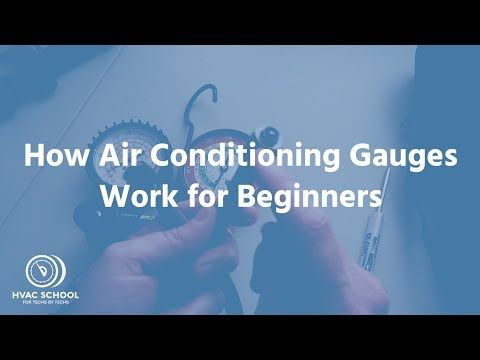 How Hvac Manifold Gauges Work Tutorial For Beginners Hvac How To
