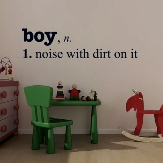So cute for Levi's room one day! :-)