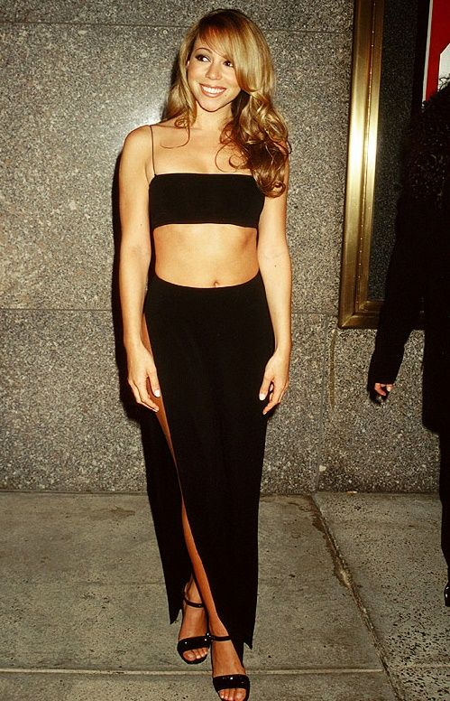 Outfit and Mariah carey on Pinterest
