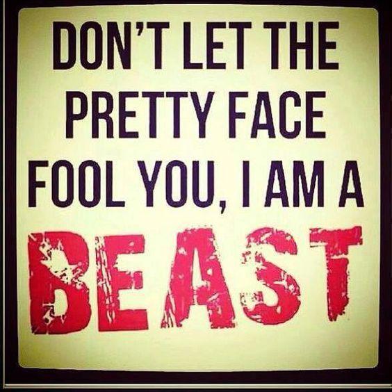 I am a beast-Yes I am