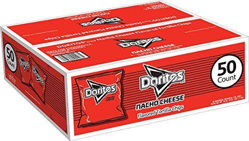 Doritos Nacho Cheese Flavored Tortilla Chips, 50 Count Doritos http://www.amazon.com/dp/B008500JBW/ref=cm_sw_r_pi_dp_UrF8wb1A8EZQX