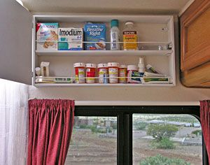 Lastest RV Bathroom Storage Ideas RV Obsession