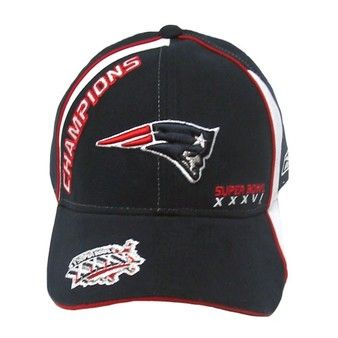 17541ebc7f2 Official New England Patriots ProShop - 2001 Super Bowl 36 Champ Cap ...