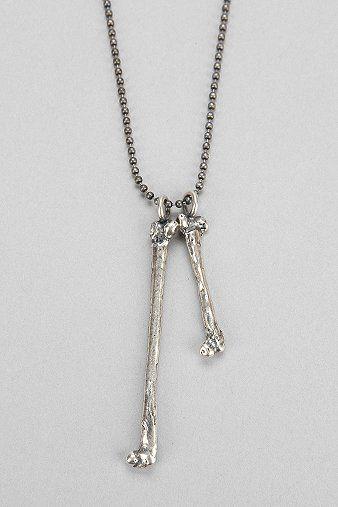 Union Double Bone Necklace