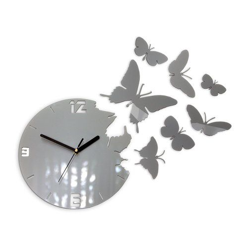 Zipcode Design Velma 28cm Silent Wall Clock Wayfair Co Uk Wall Clock Clock Modern Clock