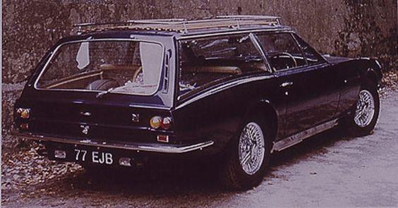 Der extravaganteste Kombi der Welt heißt Aston Martin Lagonda Shooting Brake - ein einzigartiges, unfassbar kantiges und flaches Geschoss, das bei der Schweizer Firma Roos Engineering entstand.
